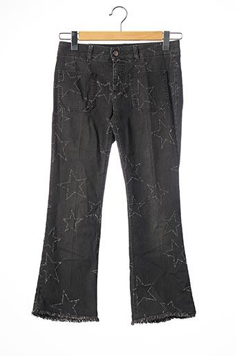 Pantalon 7/8 gris STELLA MCCARTNEY pour femme