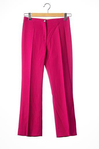 Pantalon 7/8 rose CELINE pour femme
