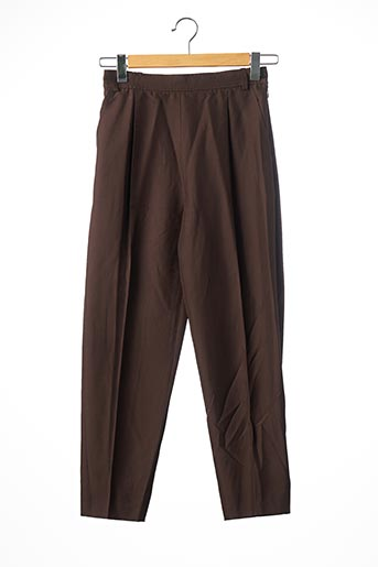 Pantalon chic marron YVES SAINTLAURENT pour femme