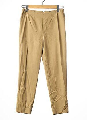 Pantalon 7/8 beige ALEXANDER MCQUEEN pour femme