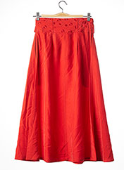 Jupe longue orange SONIA RYKIEL pour femme seconde vue