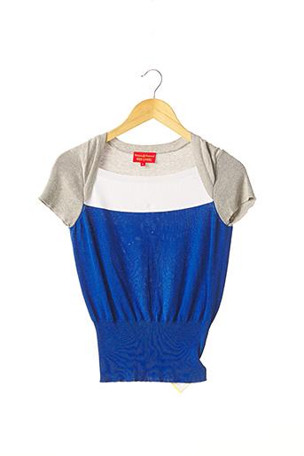 Pull col carré bleu VIVIENNE WESTWOOD pour femme