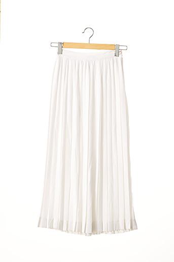 Jupe longue blanc EMMANUELLE KHANH pour femme
