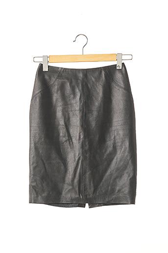 Jupe mi-longue noir TARA JARMON pour femme
