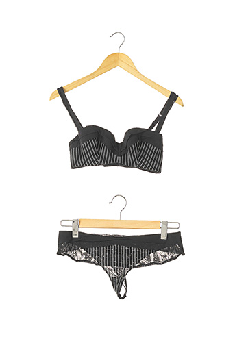 Ensemble lingerie noir CHANTAL THOMASS pour femme