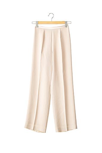 Pantalon chic beige ZAPA pour femme