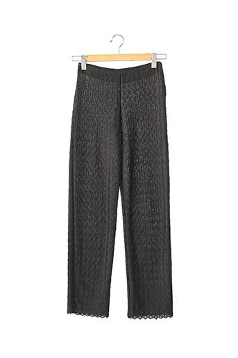 Pantalon casual noir SANS MARQUE pour femme