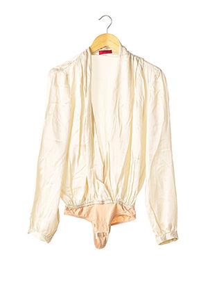 Body beige HUGO BOSS pour femme