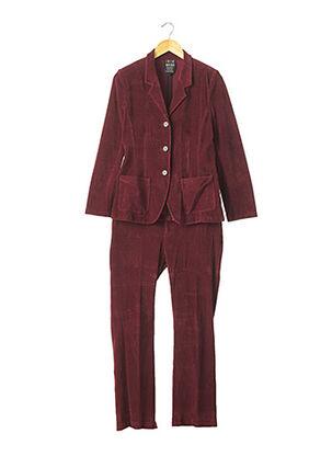 Veste/pantalon rouge IRIE WASH pour femme