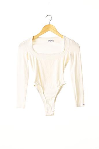 Body beige ANTI-FLIRT pour femme