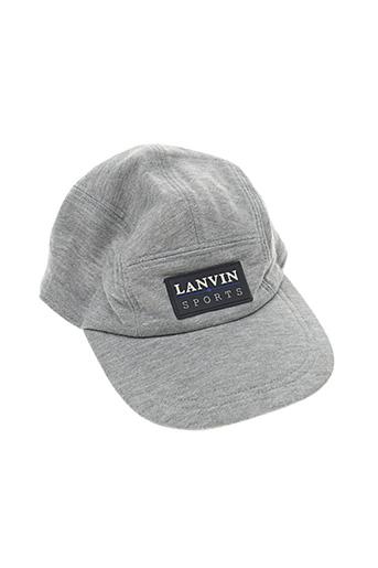 Casquette gris LANVIN pour homme