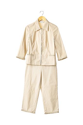 Veste/pantalon beige ZAPA pour femme