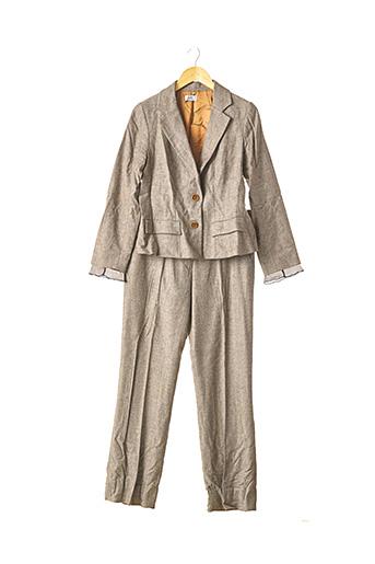 Veste/pantalon marron GERARD DAREL pour femme
