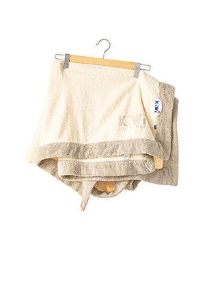 Drap de bain beige KIWI pour femme