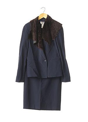 Veste/jupe bleu MONTANA pour femme
