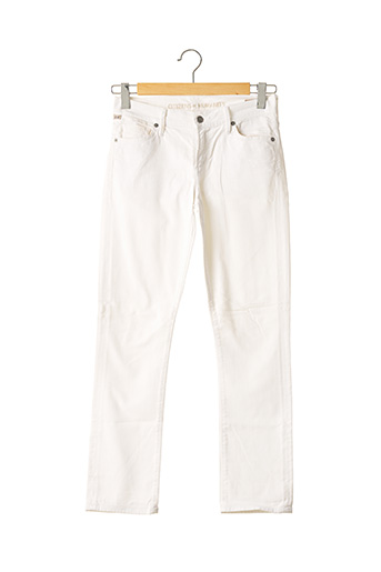 Jeans coupe droite beige CITIZENS OF HUMANITY pour femme