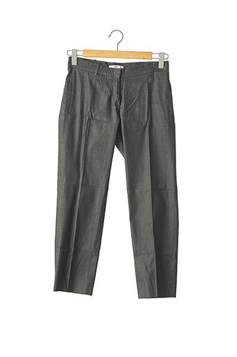 Pantalon 7/8 gris PRADA pour femme