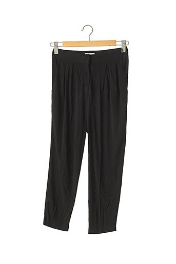 Pantalon 7/8 noir ADAM LIPPES pour femme