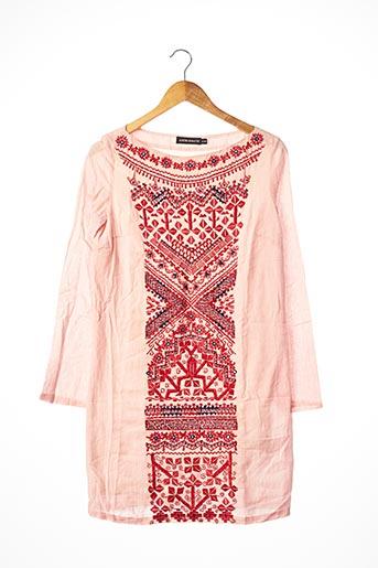 Robe courte rose ANTIK BATIK pour femme