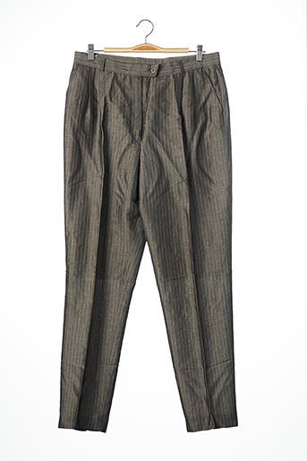Pantalon chic gris BERNARD ZINS pour homme