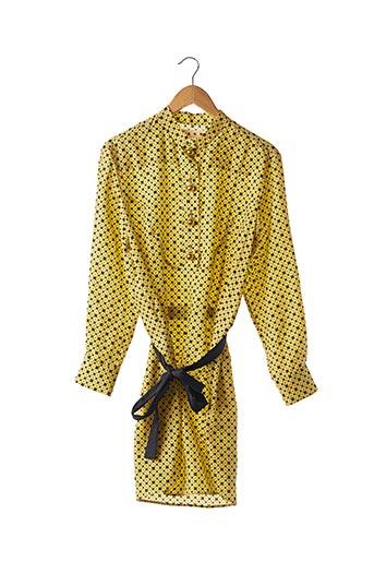 Robe courte jaune MARNI pour femme
