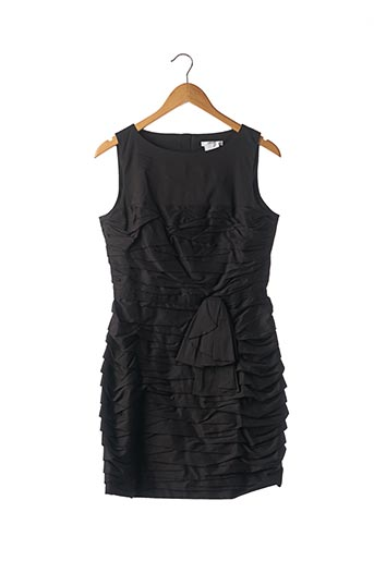 Robe courte noir PAULE KA pour femme