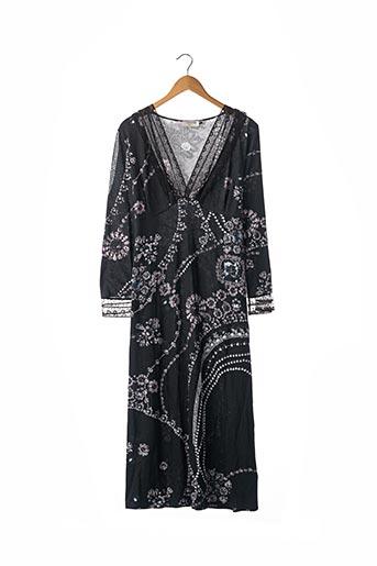 Robe longue noir FERAUD pour femme