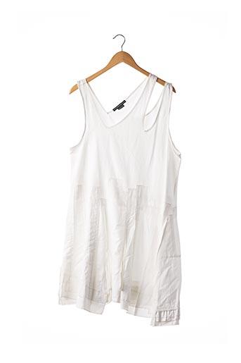 Robe mi-longue blanc MARITHE & FRANCOIS GIRBAUD pour femme