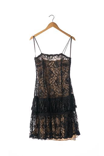 Robe mi-longue noir BASIX II pour femme