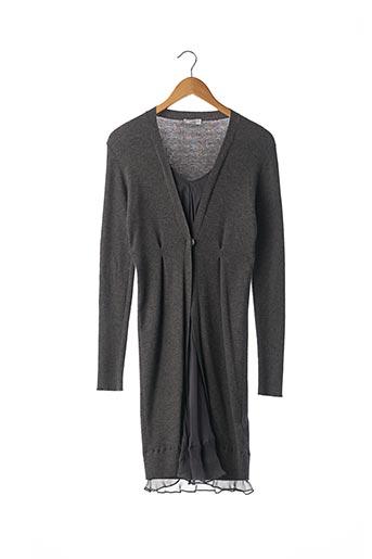 Robe pull gris BRUNELLO CUCINELLI pour femme