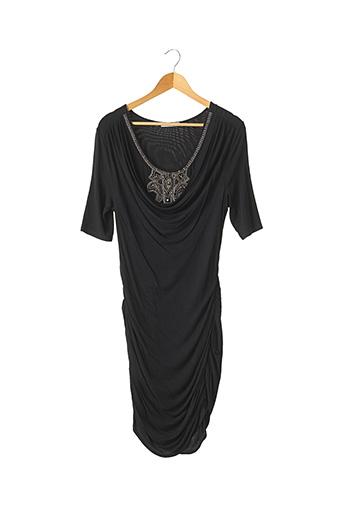 Robe mi-longue noir FAITH CONNEXIONS pour femme