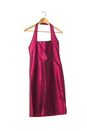 Robe mi-longue rouge TARA JARMON pour femme