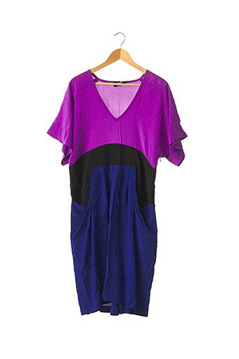 Robe mi-longue violet SONIA RYKIEL pour femme