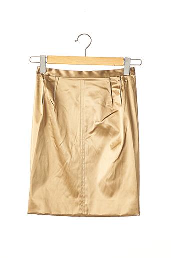 Jupe courte beige DOLCE & GABBANA pour femme