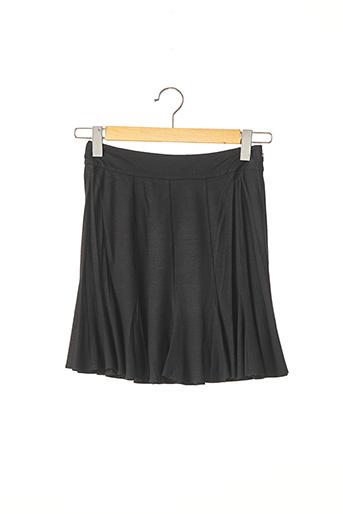 Jupe courte noir PAULE KA pour femme