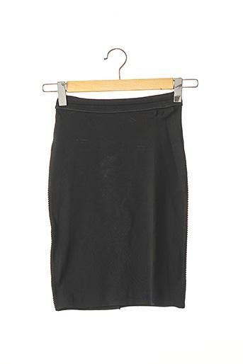 Jupe mi-longue noir ALAIA pour femme