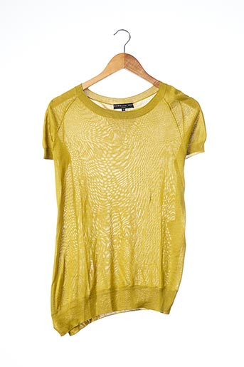 Pull col rond vert BARBARA BUI pour femme