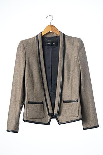 Veste chic / Blazer beige BARBARA BUI pour femme