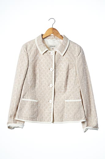 Veste chic / Blazer beige FERAUD pour femme