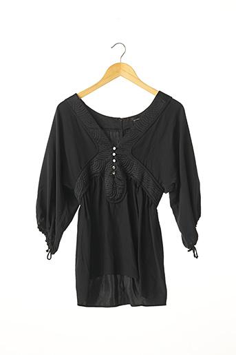 Tunique manches longues noir BARBARA BUI pour femme