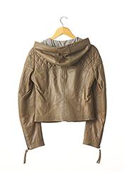 Veste en cuir vert BARBARA BUI pour femme seconde vue