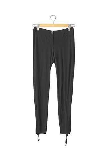 Pantalon 7/8 noir MARITHE & FRANCOIS GIRBAUD pour femme