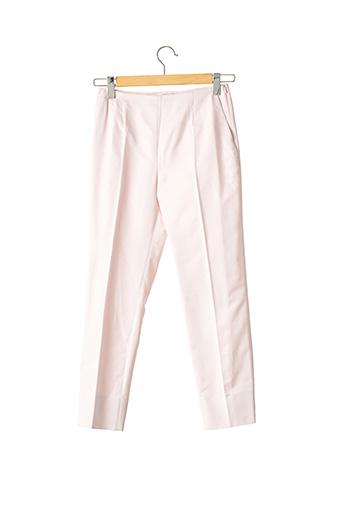 Pantalon 7/8 rose PAULE KA pour femme