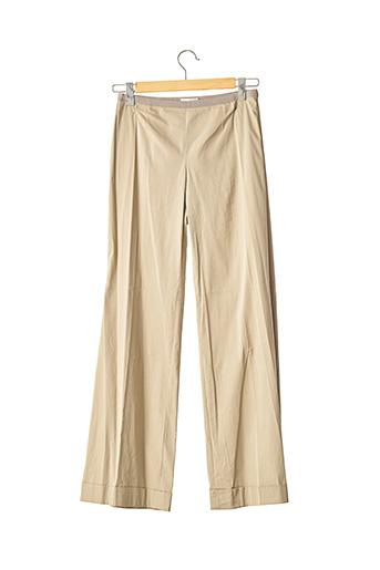 Pantalon chic beige PAULE KA pour femme