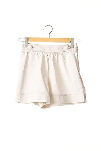 Short beige PAULE KA pour femme