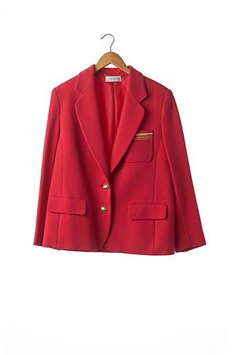 Veste chic / Blazer rouge DESARBRE pour femme