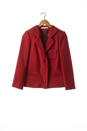 Veste chic / Blazer rouge VANESSA BRUNO pour femme