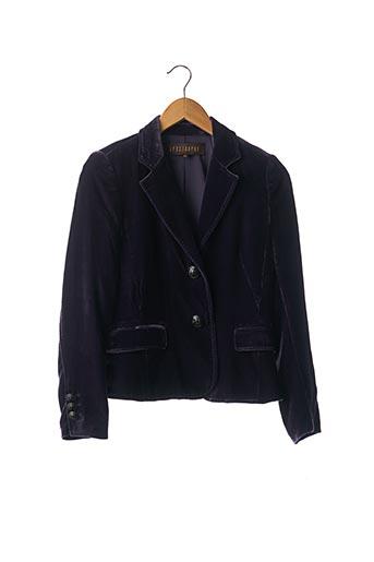 Veste chic / Blazer violet APOSTROPHE pour femme