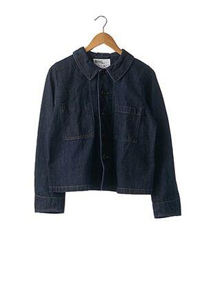 Veste en jean bleu MARGARET HOWELL pour femme