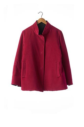Manteau court rose CINZIA ROCCA pour femme